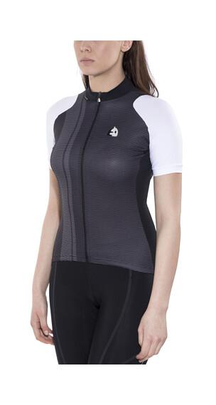 Etxeondo Maillot M/C Nere Koszulka kolarska Kobiety biały/czarny